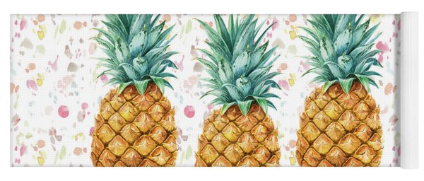 When Life Gives You Pineapple Make A Pina Colada Yoga Mat