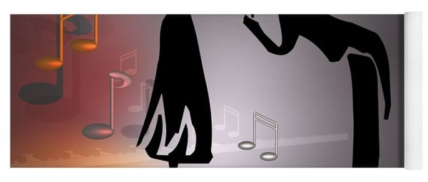 When The Music ... Yoga Mat