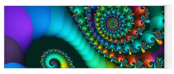 Where Rainbows Are Made Yoga Mat