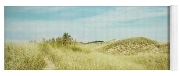 Whispering Dunes Yoga Mat