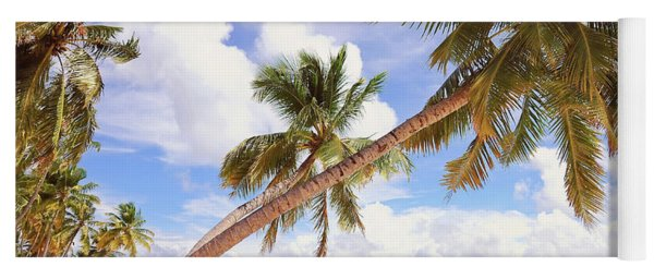 Whispering Palms. Maldives Yoga Mat