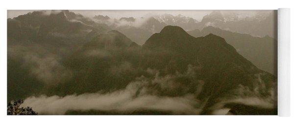 Whispers In The Andes Mountains Yoga Mat