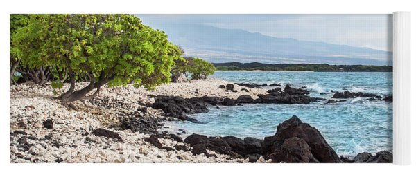 White Coral Coast Yoga Mat