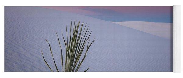 White Dunes Yoga Mat