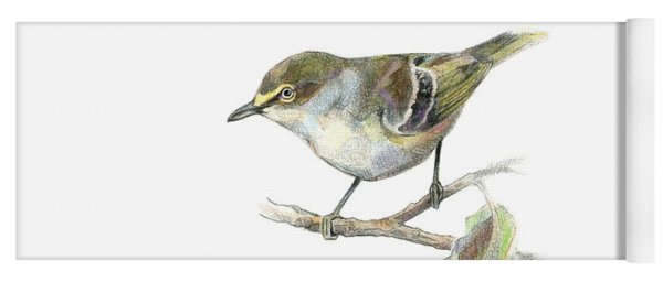 White-eyed Vireo Yoga Mat