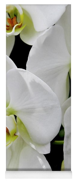 White Orchid Yoga Mat