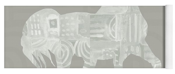 White Horse 1- Art By Linda Woods Yoga Mat