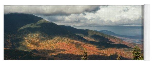 Yoga Mat featuring the photograph White Mountain Foliage by Sharon Seaward