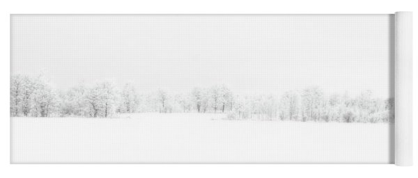 White Out Yoga Mat