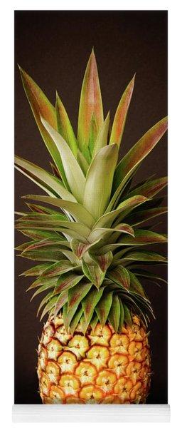White Pineapple King Yoga Mat