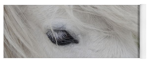 White Pony Yoga Mat