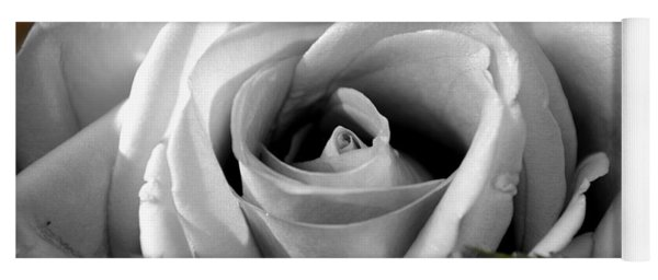 Yoga Mat featuring the photograph White Rose 2 by Richard Ricci