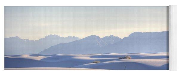 White Sands Blue Sky Yoga Mat
