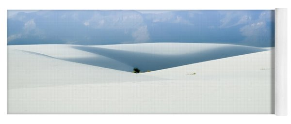 White Sands, New Mexico Yoga Mat
