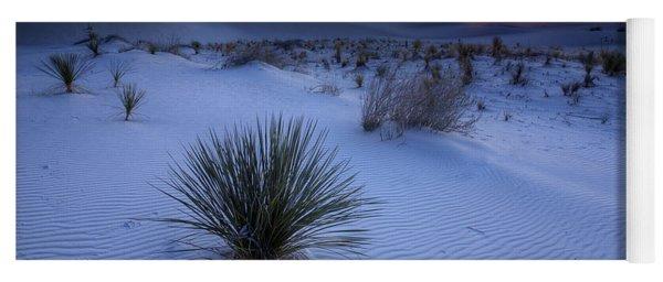 White Sands Sunset Yoga Mat