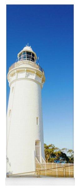 White Seaside Tower Yoga Mat