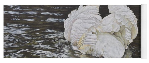 White Swan Yoga Mat