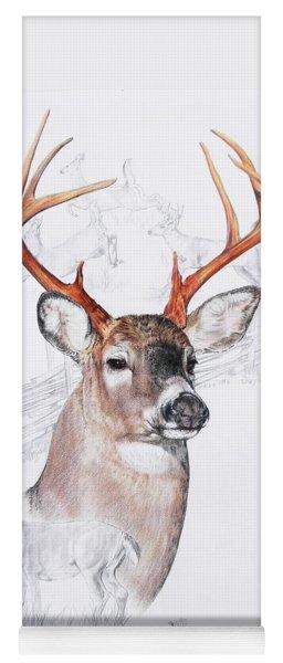 White-tailed Deer Yoga Mat