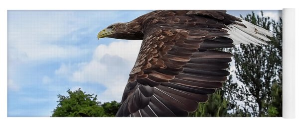 White Tailed Eagle Yoga Mat