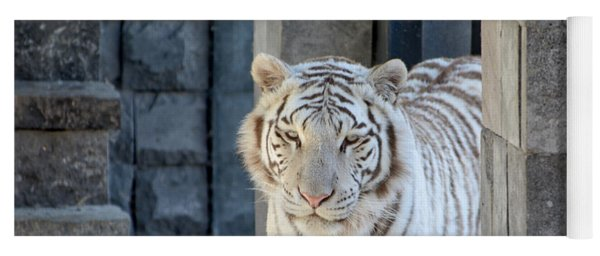 White Tiger Yoga Mat