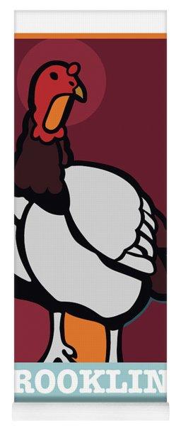 Ghost Turkey Yoga Mat