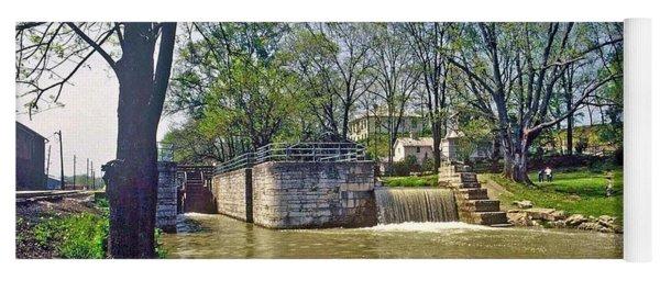 Whitewater Canal Metamora Indiana Yoga Mat