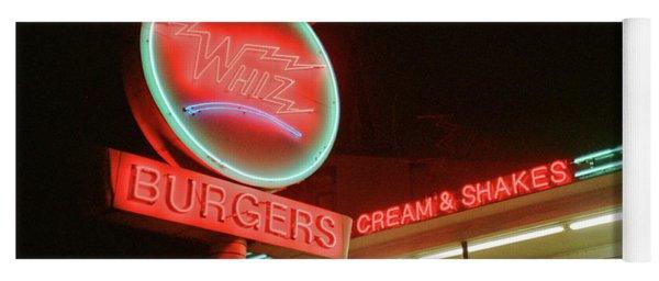 Whiz Burgers Neon, San Francisco Yoga Mat