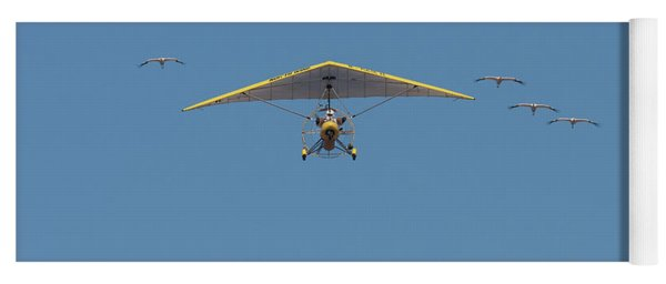 Whooping Cranes And Operation Migration Ultralight Yoga Mat
