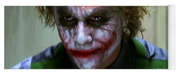 Why So Serious Yoga Mat