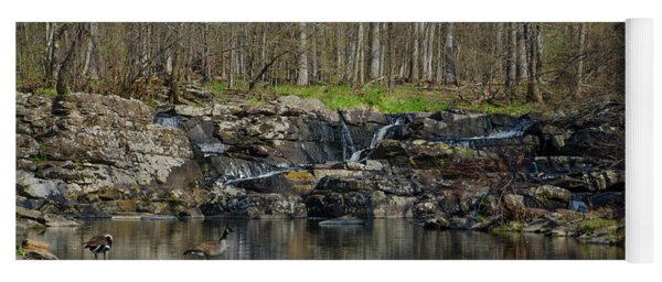 Wickecheoke Creek - New Jersey Yoga Mat