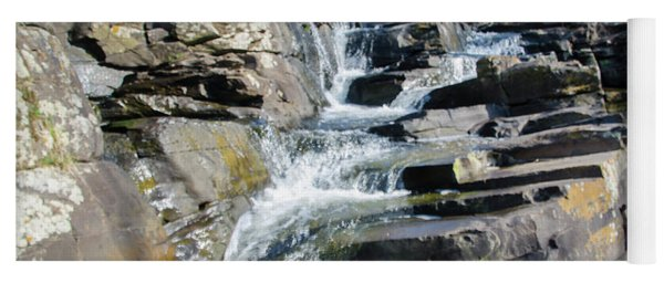 Wickecheoke Creek Waterfall Yoga Mat