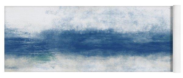 Wide Open Ocean- Art By Linda Woods Yoga Mat