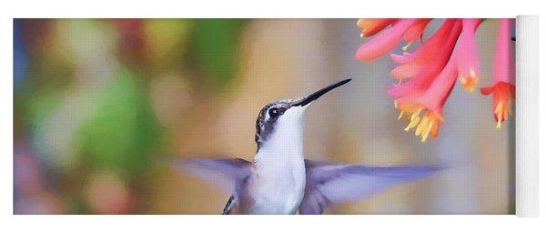 Wild Birds - Hummingbird Art Yoga Mat