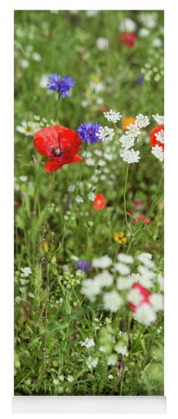 Wild Flowers Yoga Mat