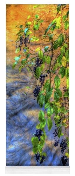 Wild Grapes Yoga Mat