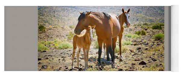 Wild Horse Family Yoga Mat