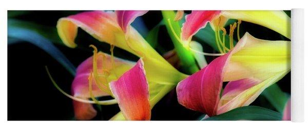 Wild Lily Yoga Mat