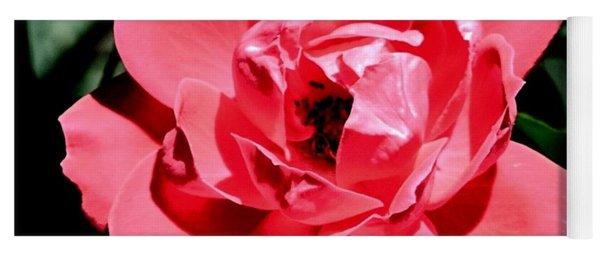 Wild Rose Yoga Mat