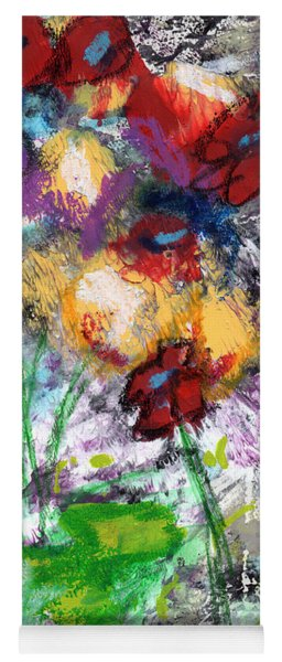 Wildest Flowers- Art By Linda Woods Yoga Mat