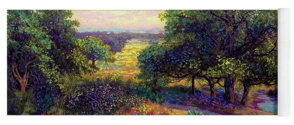 Wildflower Meadows Of Color And Joy Yoga Mat