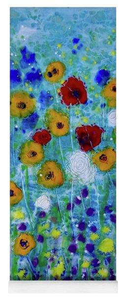 Wildflowers Never Fade Yoga Mat