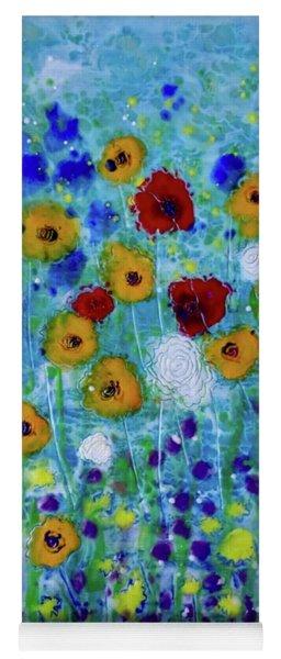 Wildflowers Never Fade Yoga Mat