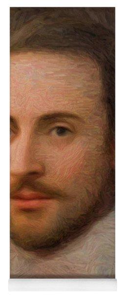 William Shakespeare Yoga Mat