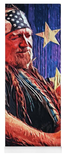 Willie Nelson Yoga Mat