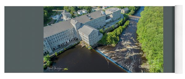 Willimantic River And Mill #2 Yoga Mat