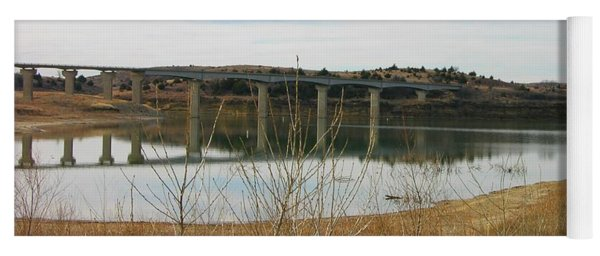 Wilson Lake Hell Creek Bridge Yoga Mat