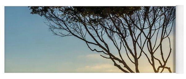 Wind Blown Tree Yoga Mat