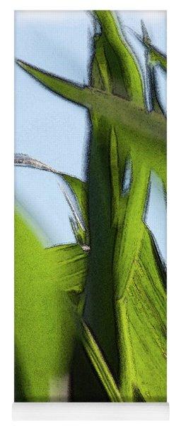 Wind In Corn Leaves 2 -  Yoga Mat