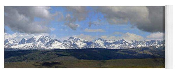 Dm9504-wind River Range Panorama  Yoga Mat