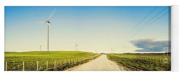 Windfarm Way Yoga Mat